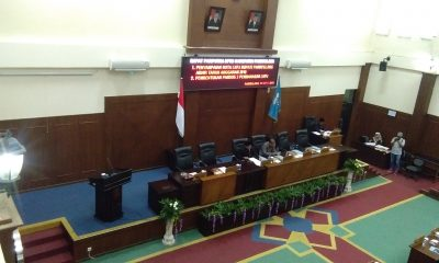 Paripurna Penyampaian LKPJ Bupati Pandeglang Tahun 2018