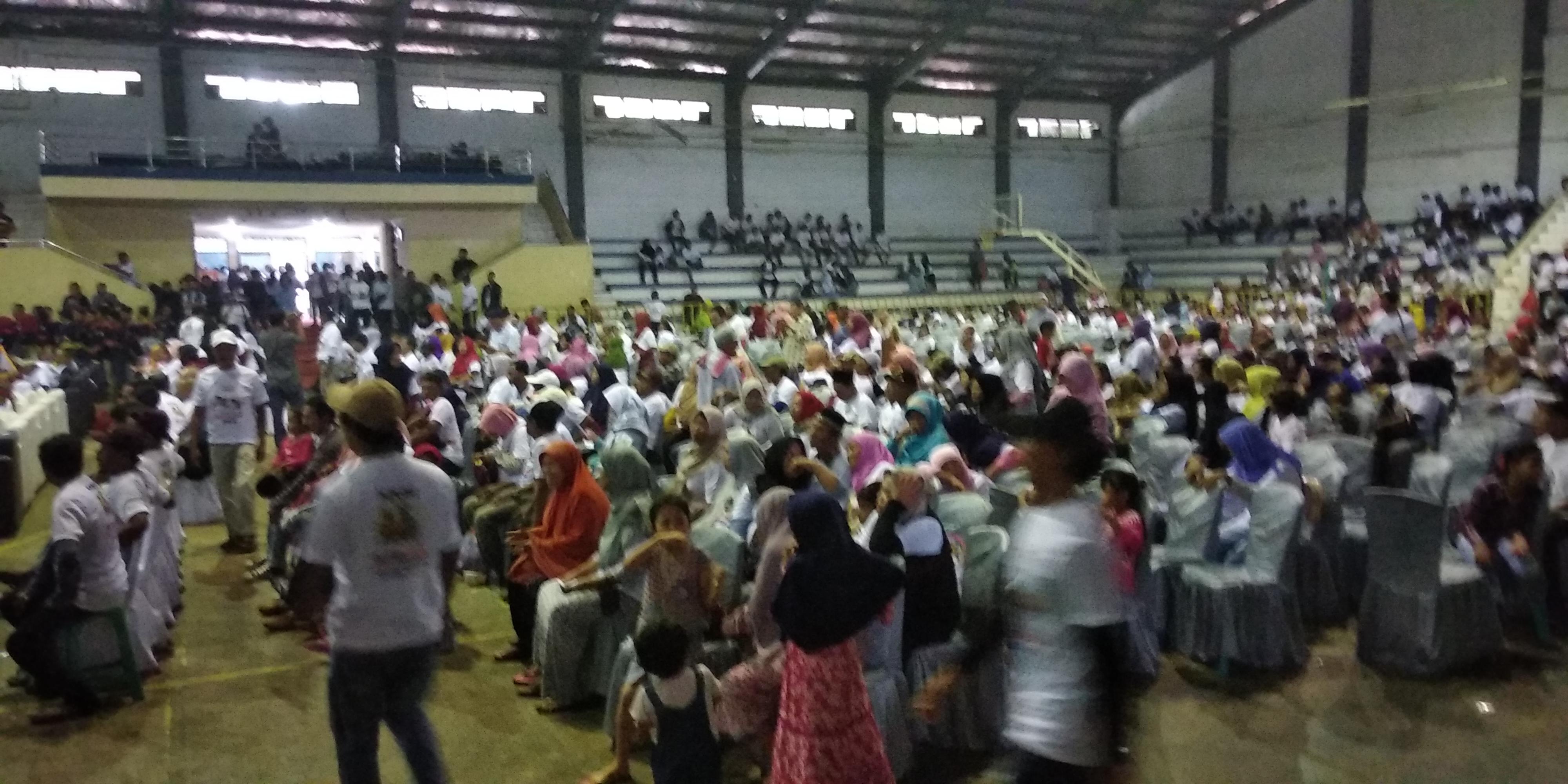 Deklarasi nelayan jokowi di Kota Serang tak berizin