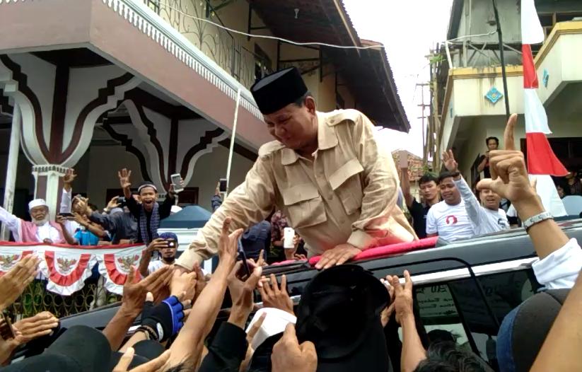 Ternyata Ini Alasan Prabowo Usung Muhammad-Sara di Pilkada Tangsel 2020