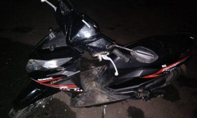 Sepeda motor milik warga yang dipasang GPS