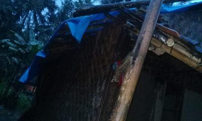 Angin puting beliung menerjang Tanjung Lesung