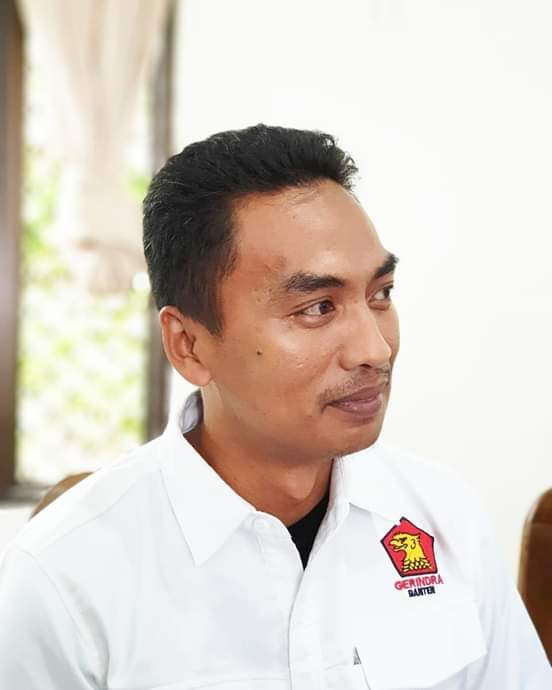 Wakil Ketua DPC Partai Gerindra Pandeglang, Bayu Kusuma