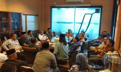 Pengurus Kadin Kota Cilegon Temui Kadin Provinsi Banten
