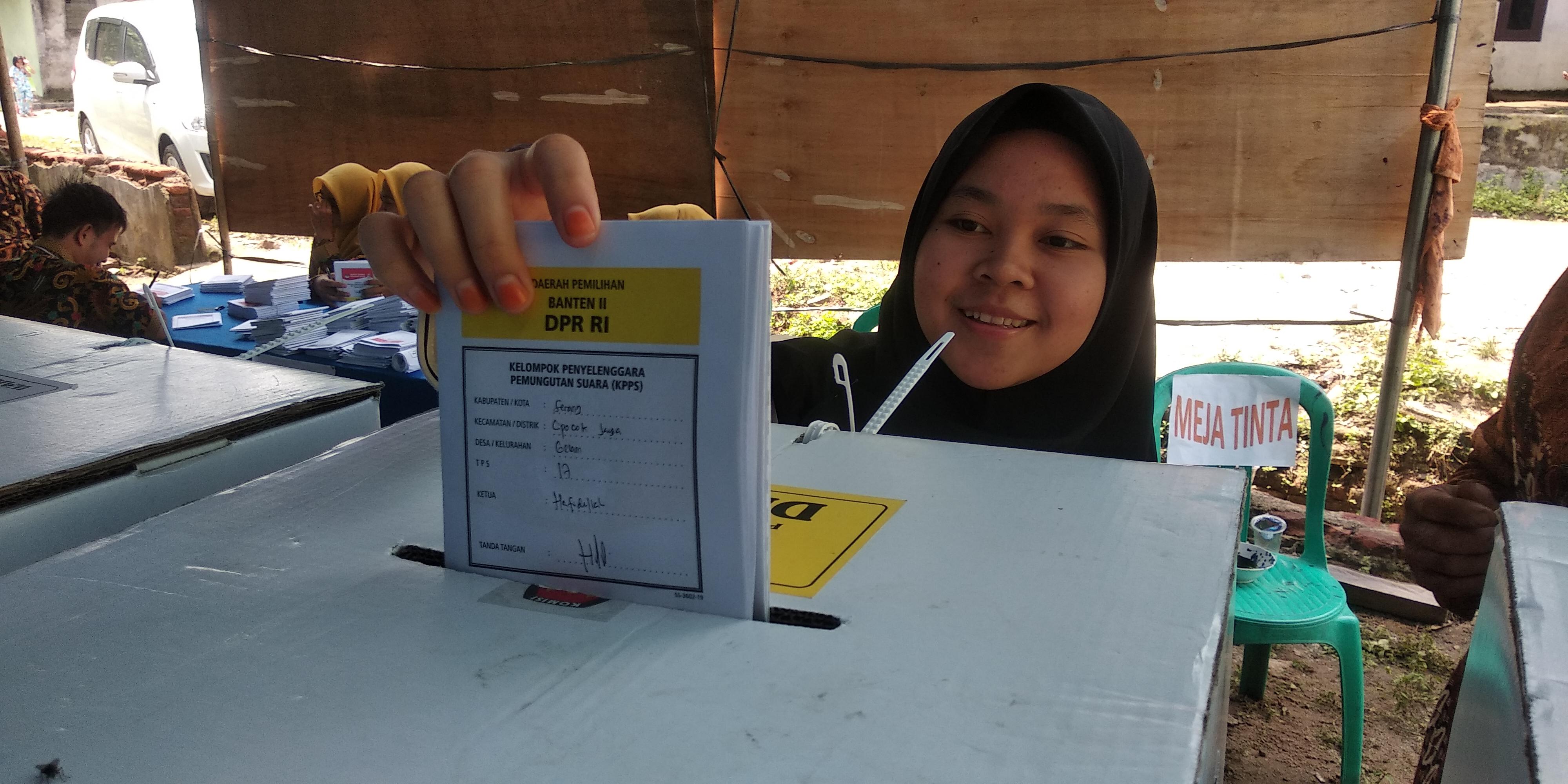 Pemilih di Kota Serang