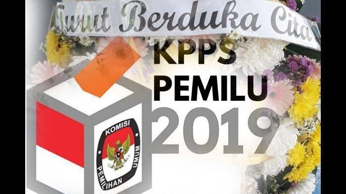 Ucapan belasungkawa untuk Ketua KPPS di Pondok Aren yang meninggal