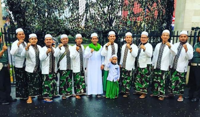 Anak peserta aksi Bela Islam