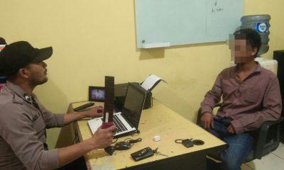 Polisi periksa pemilik golok yang terjaring razia di Gerbang Tol Serang Timur