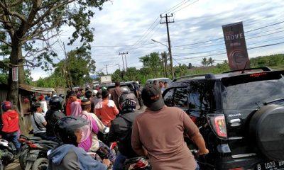 Suara tembakan di SPBU Jalan Raya Curug-Parung Panjang
