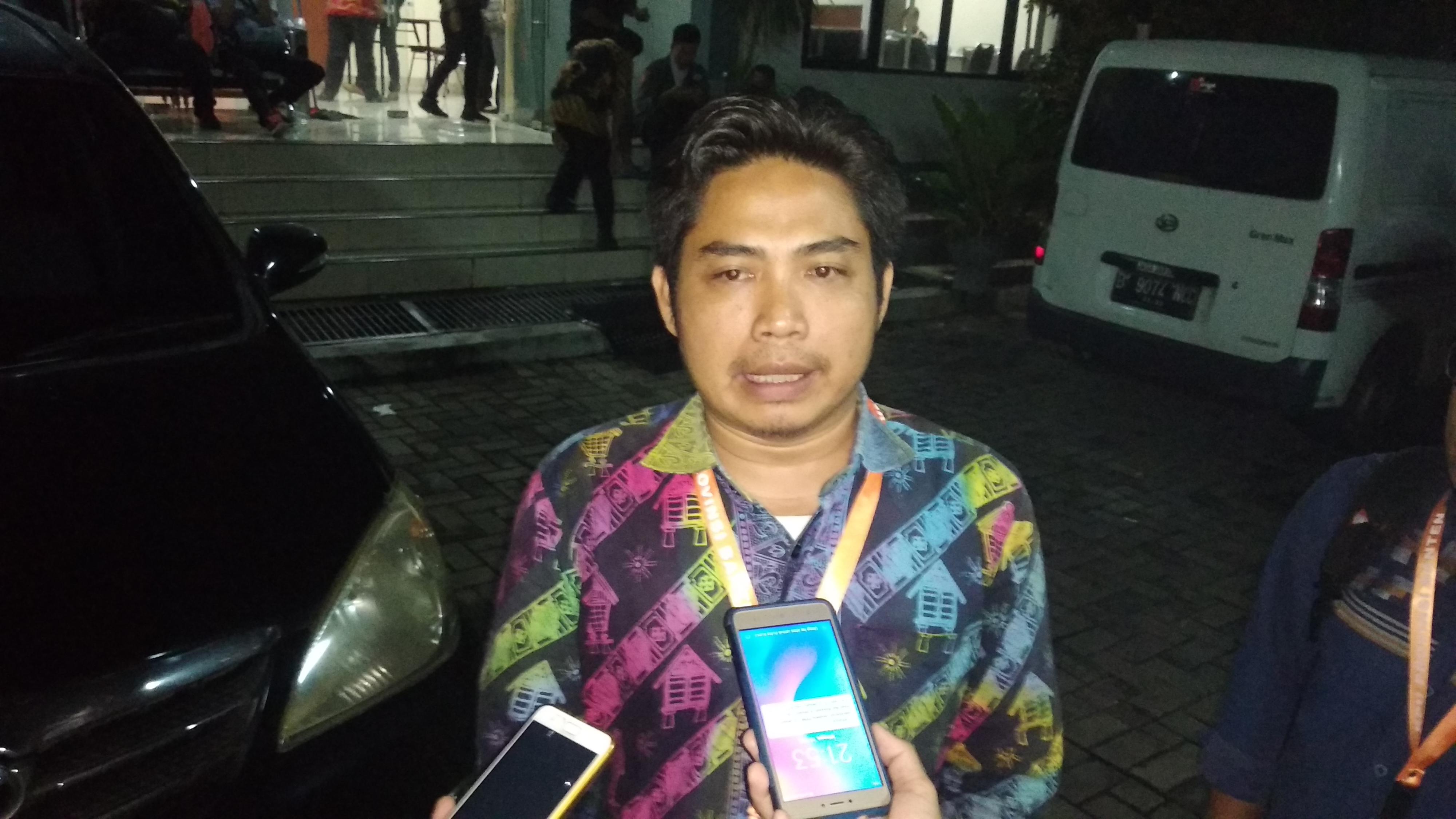 Saksi Partai Demokrat Banten Rohman Setiawan