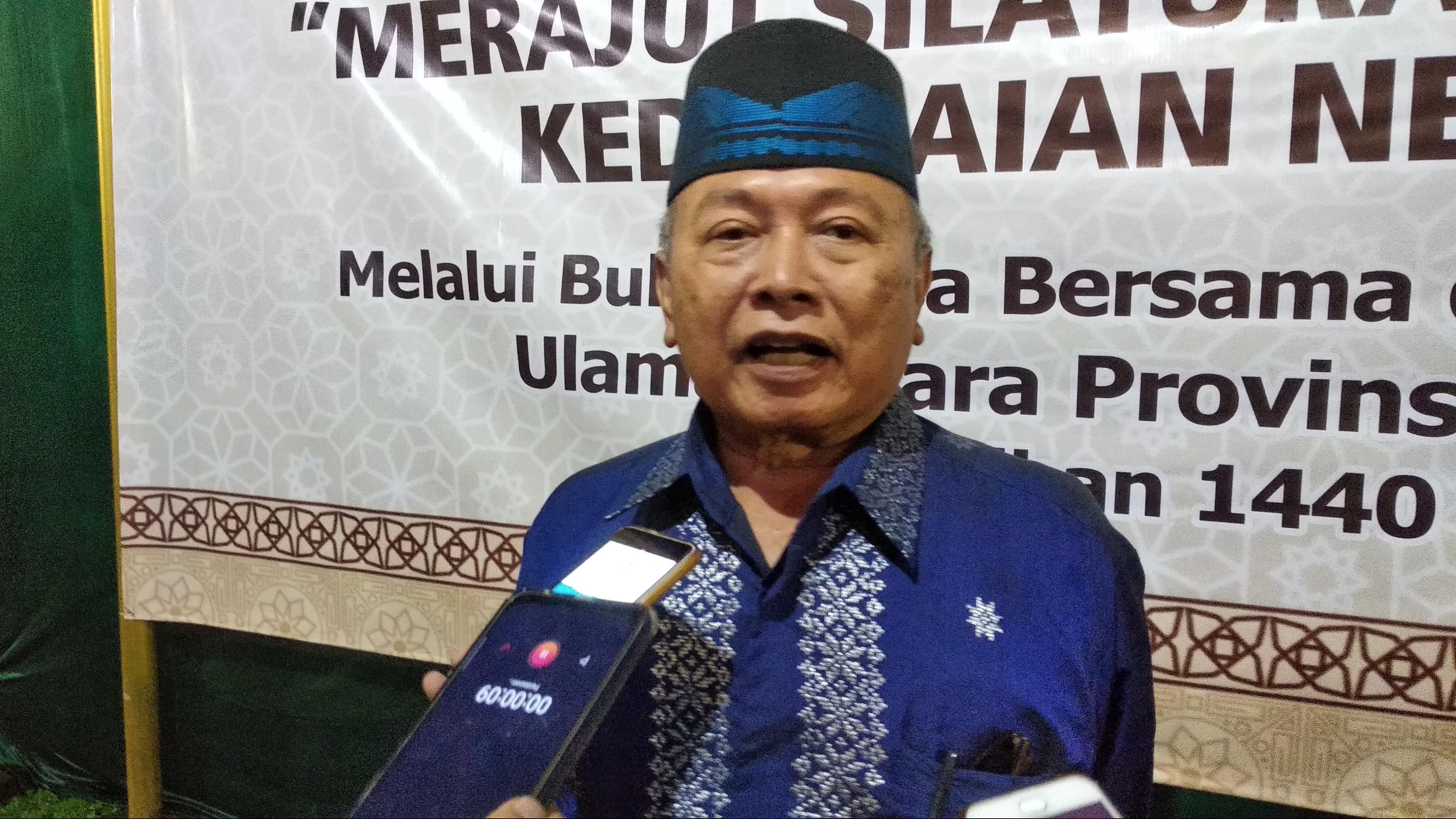 Ketua MUI Banten AM Romly