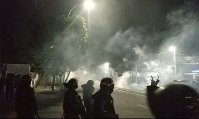 Kerusuhan pecah di Jakarta