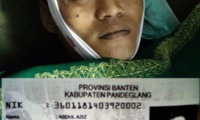 Abdul Aziz, santri asal Pandeglang tewas tertembak saat Aksi 22 Mei