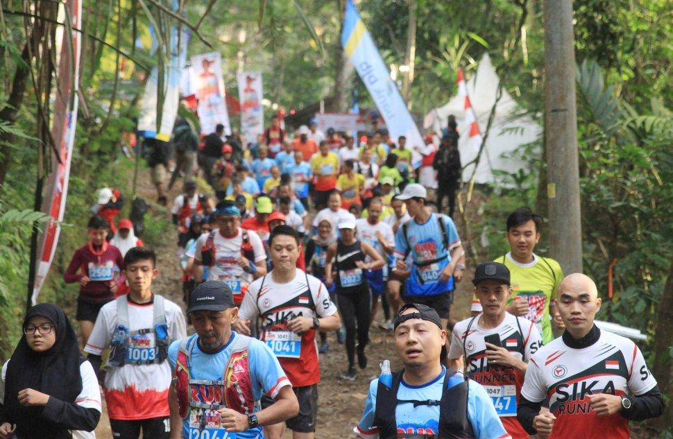 Situ Gunung Trail Run 2019; Berlari di Antara Limpahan Udara Segar adalah Anugerah Terbesar