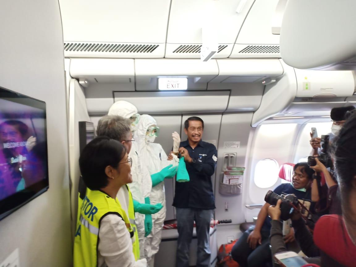 Jin Penumpang Lion Air Positif Kena Corona, Kondisi 187 Lainnya dan 11 Kru yang Terbang Bersama Belum Diketahui