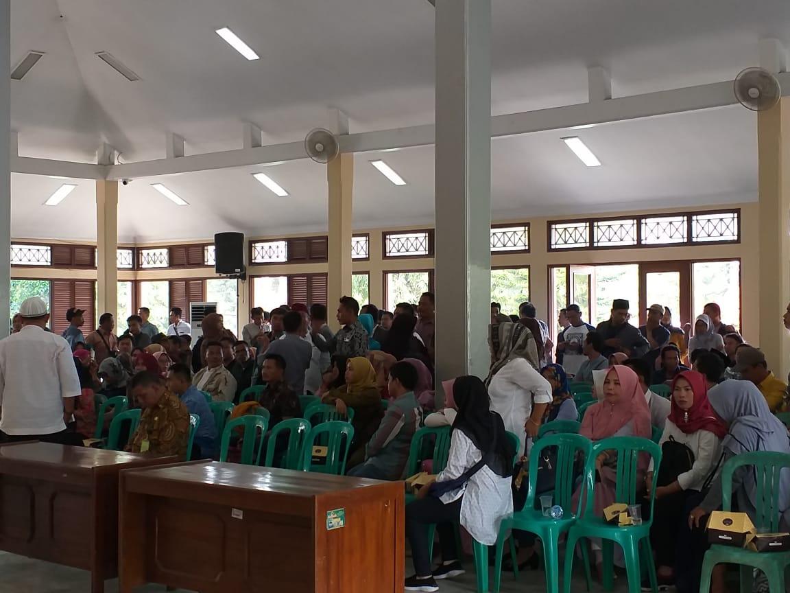 Pemilihan Supplier Program Sosial di Pendopo Bupati Pandeglang Kisruh, Agen Ramai-ramai WO