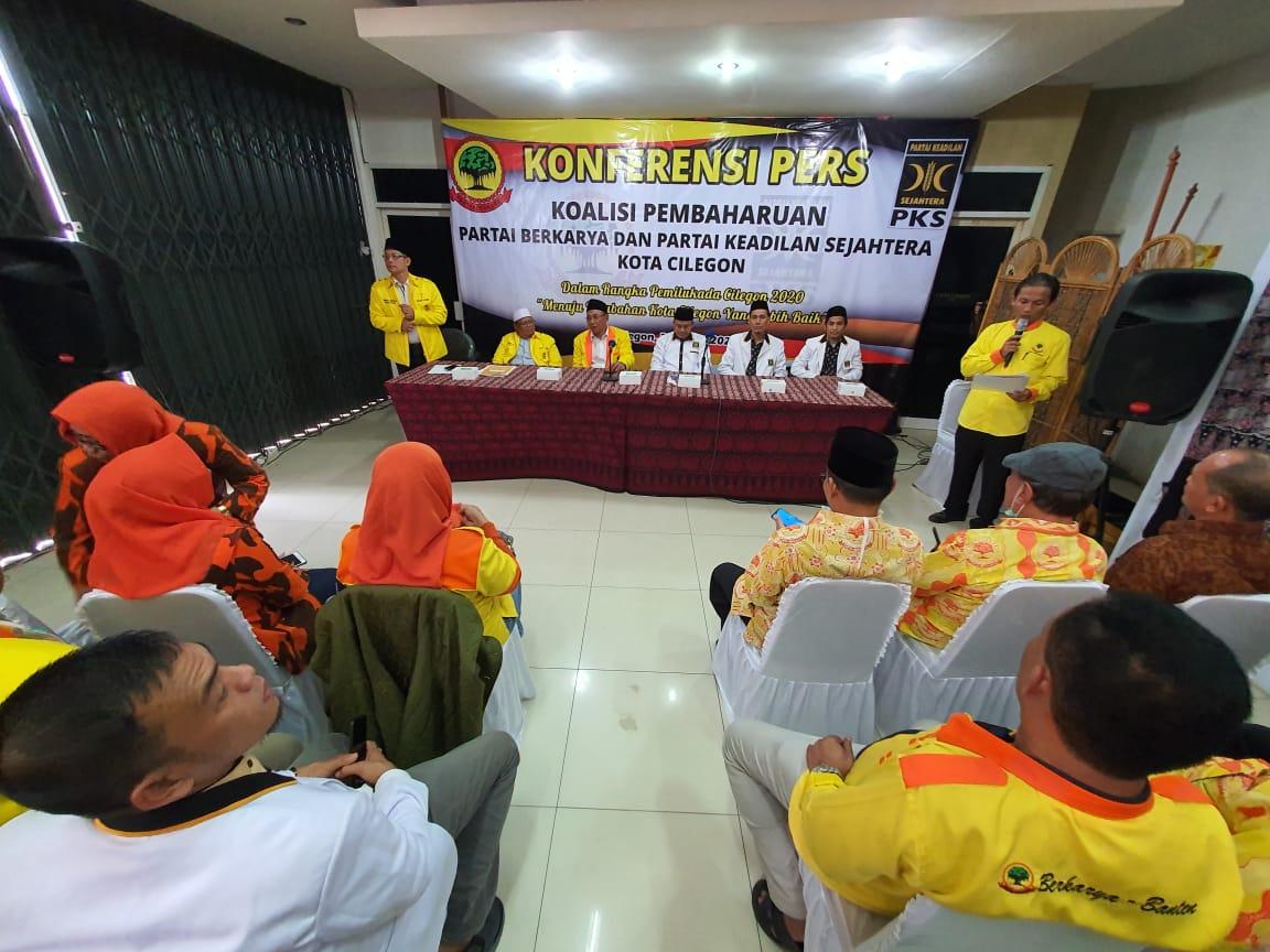 PKS-Partai Berkarya Resmi Berkoalisi Usung Helldy Agustian di Pilkada Cilegon 2020; Survei Elektabilitas Tinggi, Sosok Wakil Masih Dirahasiakan