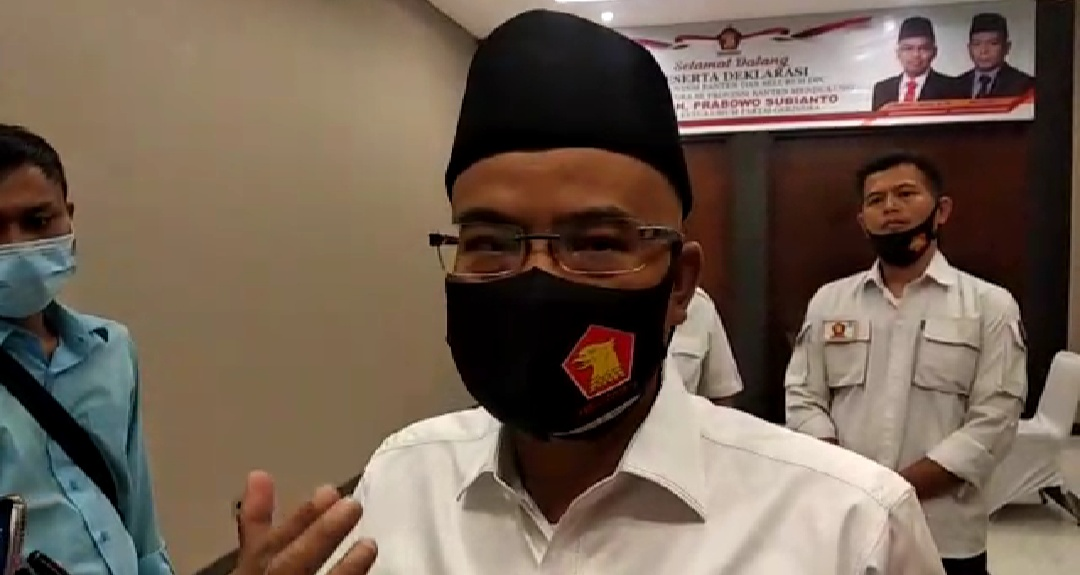 Ditanya Strategi untuk Tumbangkan Petahana di Pilkada, Aktivis 98: Sebelum Saya Pimpin Gerindra Gak Jadi Pemenang Pemilu Kan di Banten?