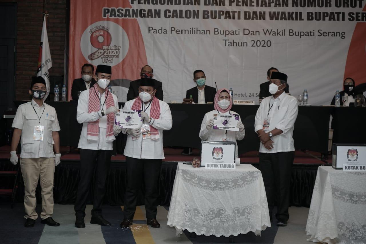 Tak Ada Sengketa di MK, KPU Tetapkan Ratu Tatu Chasanah – Pandji Tirtayasa sebagai Bupati dan Wakil Bupati Serang 2020-2025