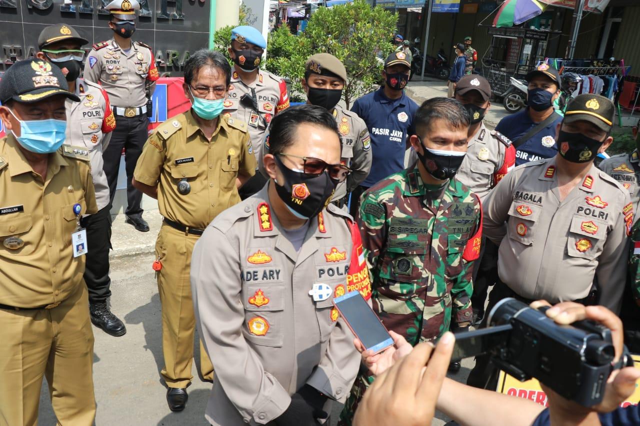 Gencar Sosialisasi Penerapan Protokol Kesehatan ke Warga, Dandim 0510/Tigaraksa Positif Covid-19 dan Jalani Isolasi di Hotel Yasmin