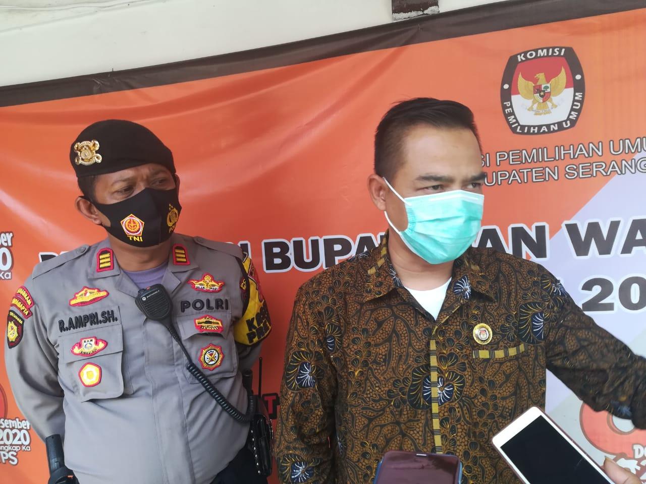 Tatu-Pandji dan Nasrul-Eki Sah Jadi Pasangan Calon pada Pilkada Kabupaten Serang 2020