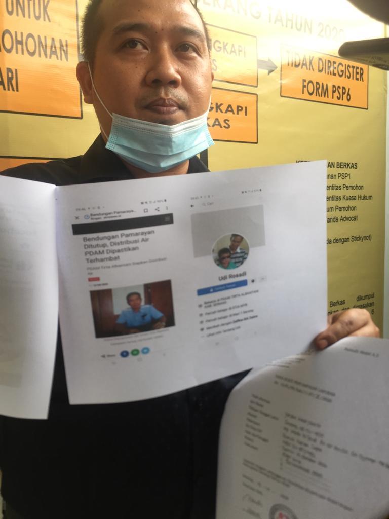Pejabat PDAM Tirta Albantani Kepergok di Facebook Diduga Kampanyekan Pasangan Tatu – Pandji
