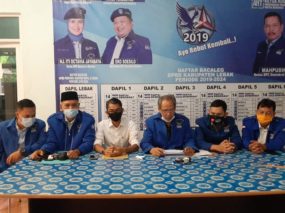 Terseret 'Insiden' di Rumah Janda, Politikus Demokrat Mundur dari Plt Ketua DPRD Lebak
