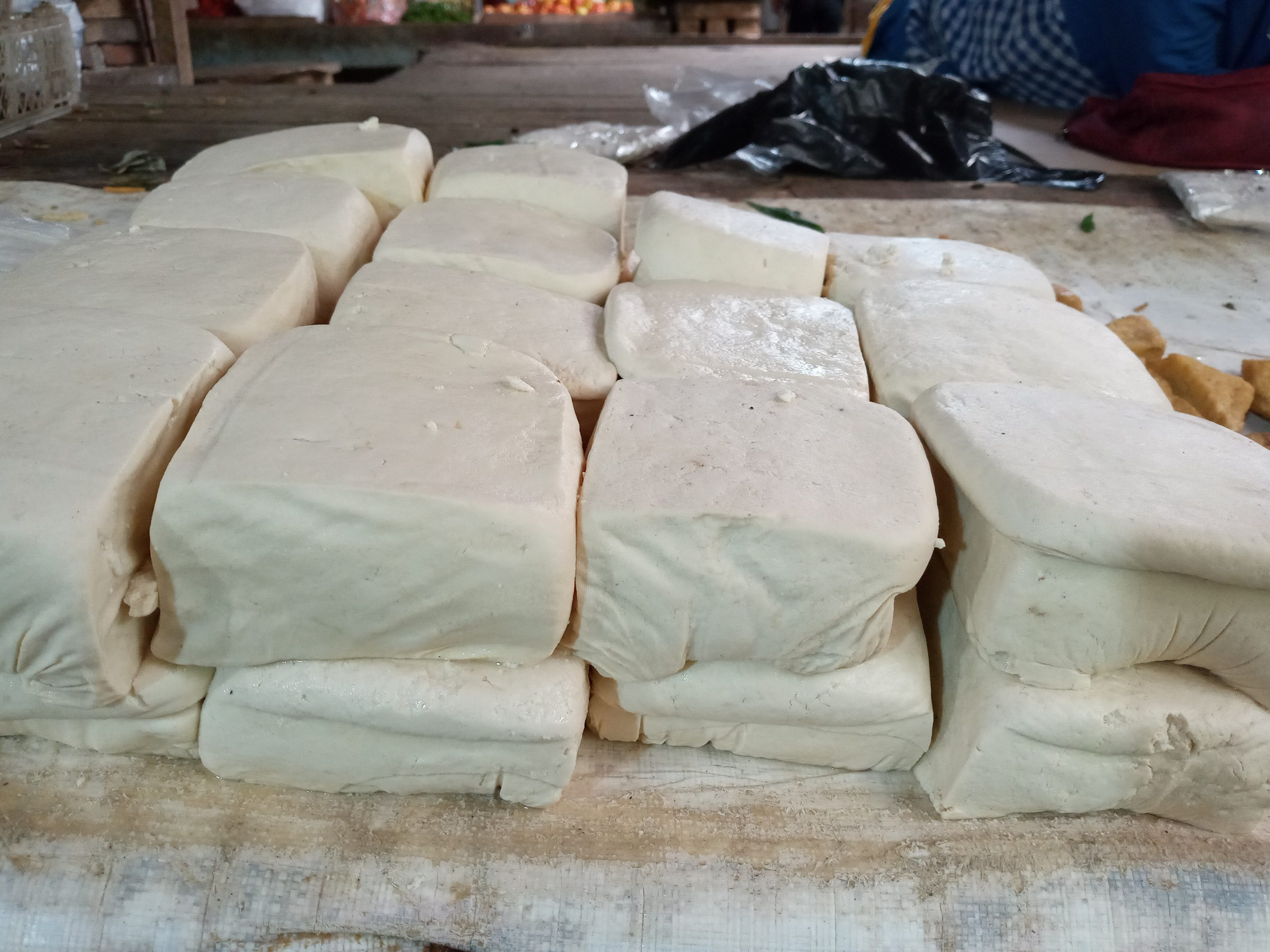 Duh! Harga Tahu di Pasar Baros Serang Tembus Rp 4.000 per Biji