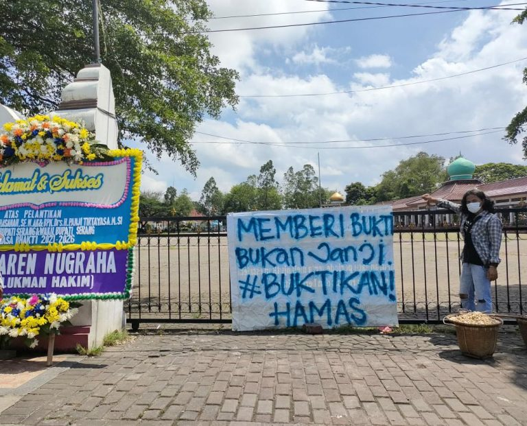 """Mahasiswa Serang Siap-siap Tagih Tagline Tatu-Pandji """"Memberi Bukti Bukan Janji"""""""