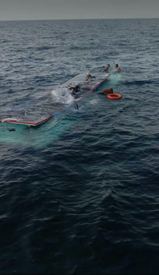 Angin Puting Beliung Tiba-tiba Muncul di Laut Pulau Tunda Menyapu KM Sampoerna Pengangkut Rombongan Pemancing dari Jakarta, Satu Orang Tewas