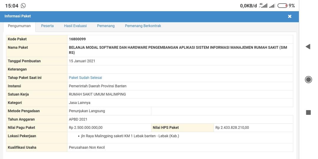 KPK Bilang Proyek PL di Atas Rp 200 Juta Hanya Boleh untuk Rahasia Negara, Kok Pemprov Banten 'Nekat'?