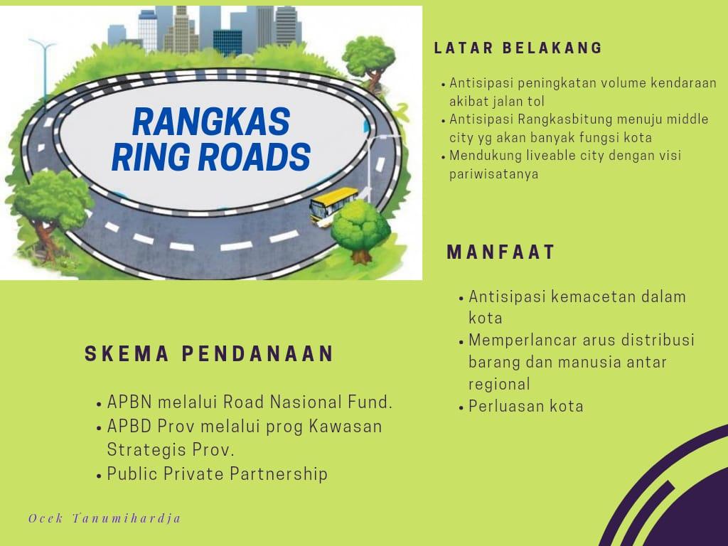 Ring Roads Solusi Antisipasi Kemacetan Kota Rangkasbitung Akibat Adanya Jalan Tol