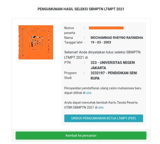 Tragis! Berprestasi dan Lulus SBMPTN, Siswa Asal Banten Ini Ijazah dan SKL-nya Ditahan SMA Yadika 5 Jakarta Gara-gara Utang SPP
