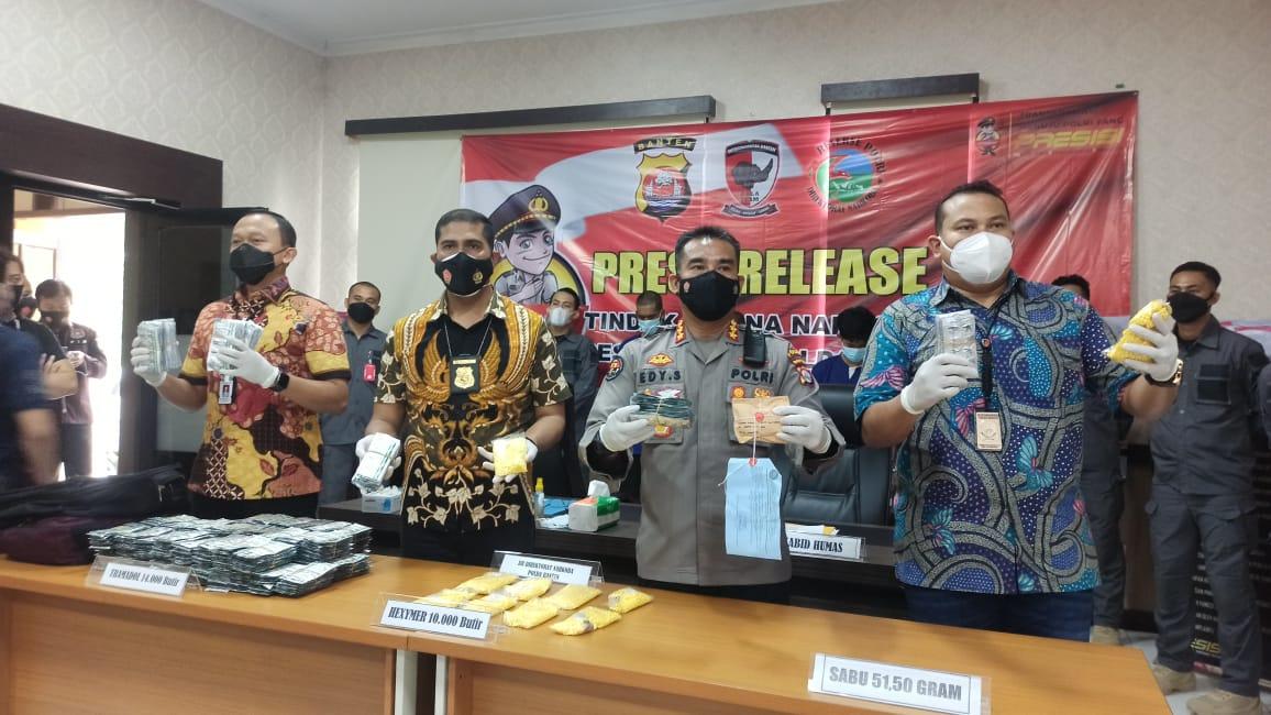 Disergap di Depan Kantor Partai Gerindra Banten, IH Ngaku Jadi Kurir Sabu untuk Bertahan Hidup selama Pandemi COVID-19