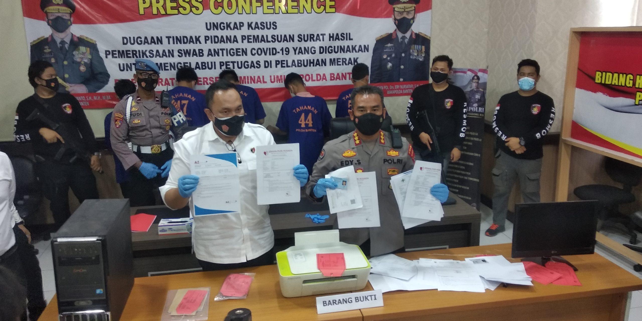 Permintaan Hasil Swab Palsu di Banten Meningkat sejak Diberlakukan PPKM Darurat